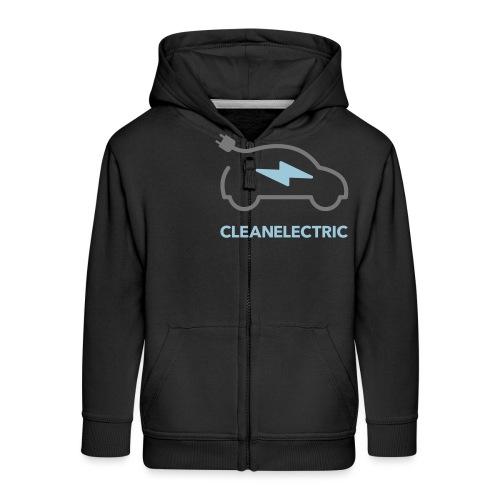 CLEANELECTRIC Logo - Kinder Premium Kapuzenjacke