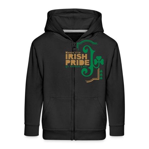 IRISH PRIDE - Kids' Premium Zip Hoodie