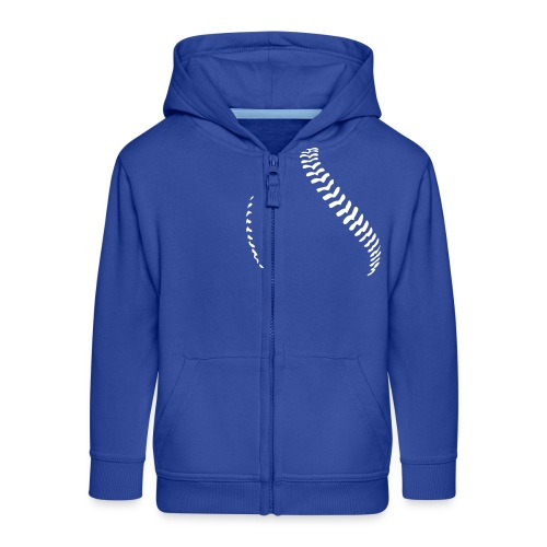 Baseball - Kids' Premium Zip Hoodie