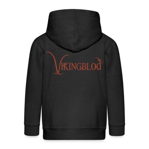 Vikingblod - Premium Barne-hettejakke