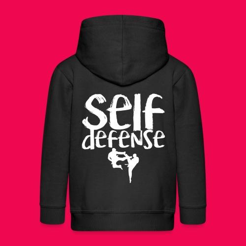 Self Defense 1.0 - Kinder Premium Kapuzenjacke