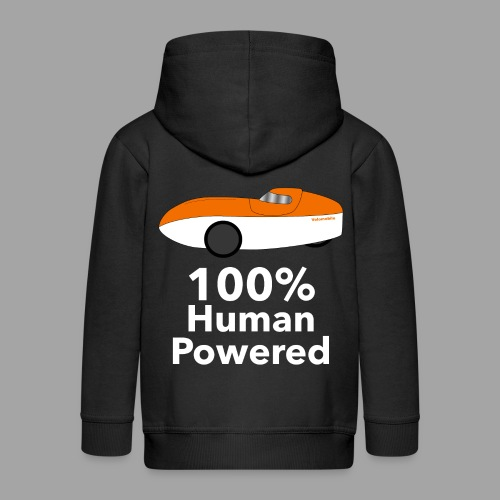 Human Powered WAW - Lasten premium hupparitakki