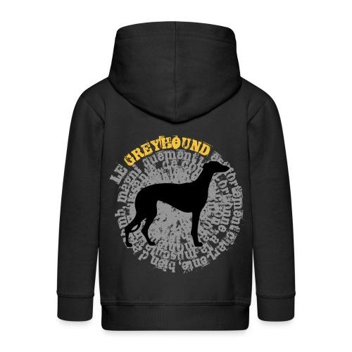 Greyhound STD2 - Veste à capuche Premium Enfant