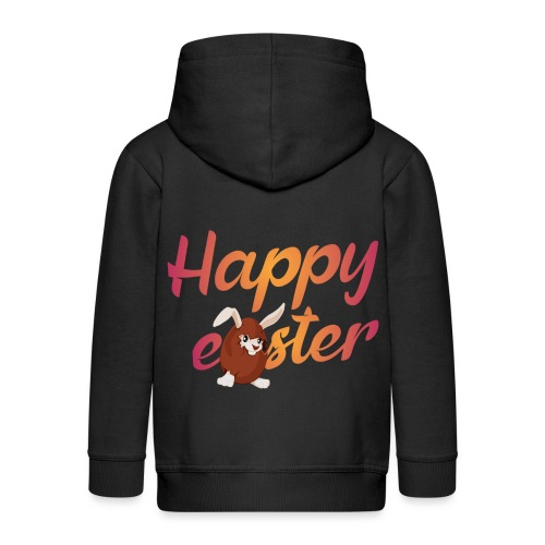 Happy easter - Kinderen Premium jas met capuchon