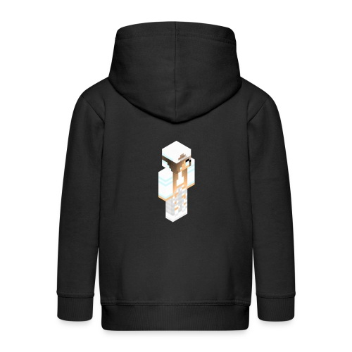 konijntjespower png - Kinderen Premium jas met capuchon