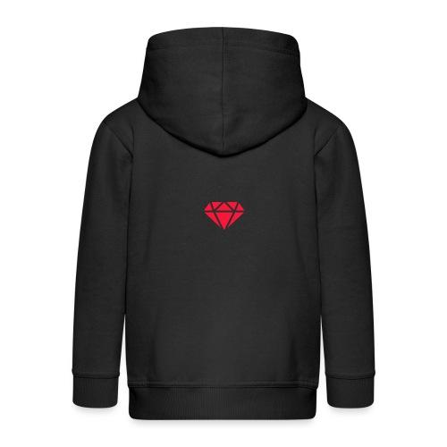 Logomakr_29f0r5 - Kids' Premium Zip Hoodie