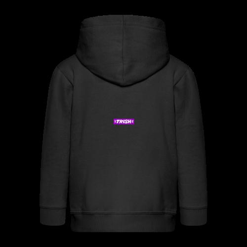 trish logo - Kids' Premium Zip Hoodie