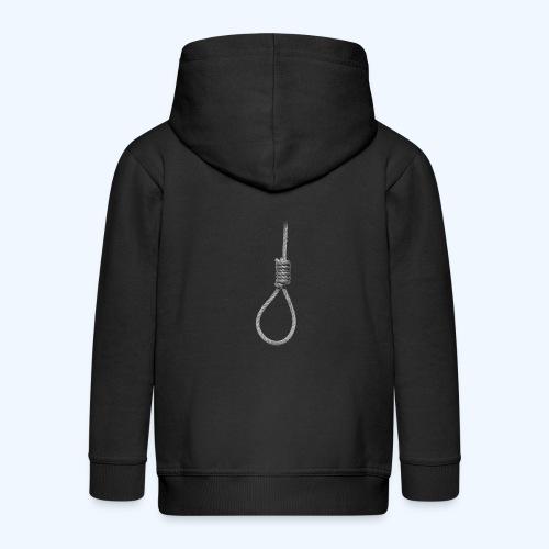 Noose - Kids' Premium Zip Hoodie