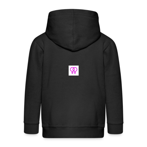 lesbian logo - Veste à capuche Premium Enfant