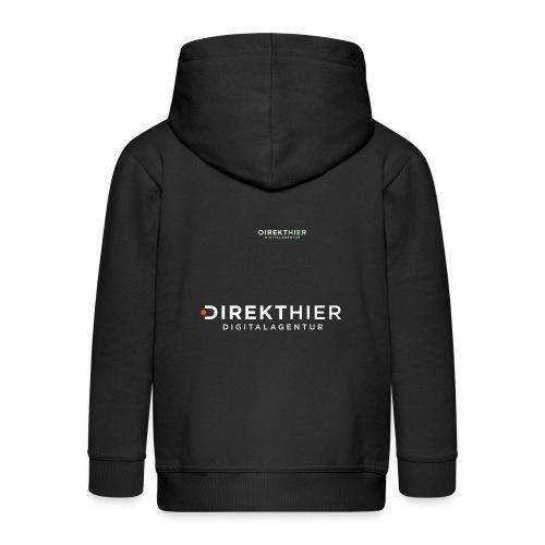 DIREKTHIER Logo - Kinder Premium Kapuzenjacke