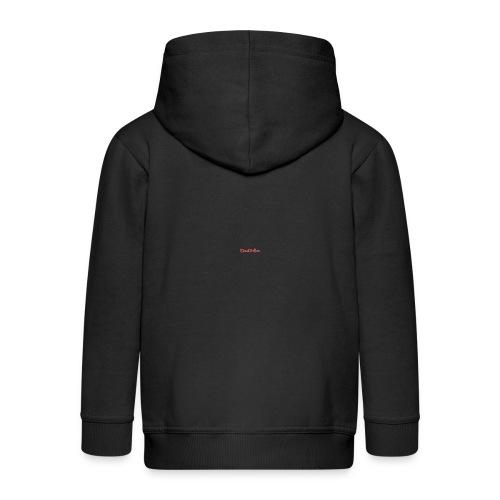 DaneColliver t-shirt (BLACK) - Kids' Premium Zip Hoodie