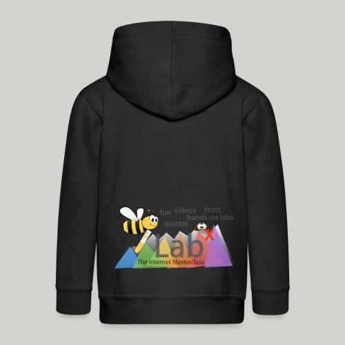 iLabX - The Internet Masterclass - Kids' Premium Zip Hoodie