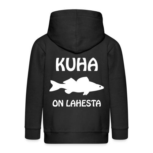 KUHA ON LAHESTA - Lasten premium hupparitakki