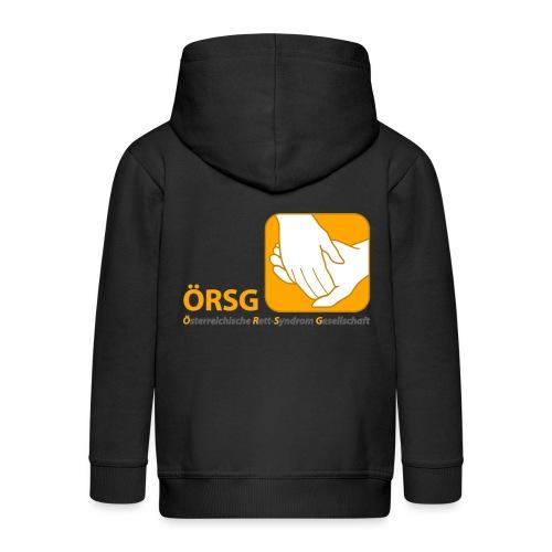 Logo der ÖRSG - Rett Syndrom Österreich - Kinder Premium Kapuzenjacke