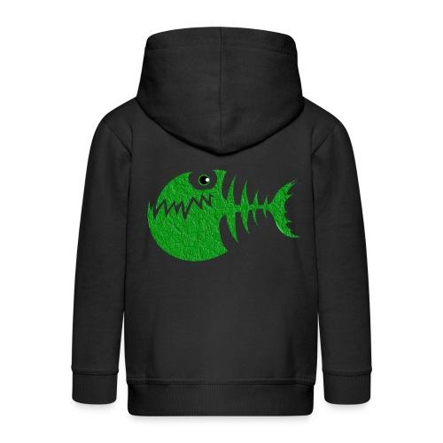 FISH BONE, Funny Sea Textiles, and Gifts for You - Lasten premium hupparitakki