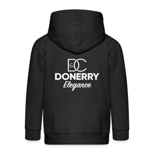 Donerry Elegance NEW White on Dark - Kids' Premium Hooded Jacket