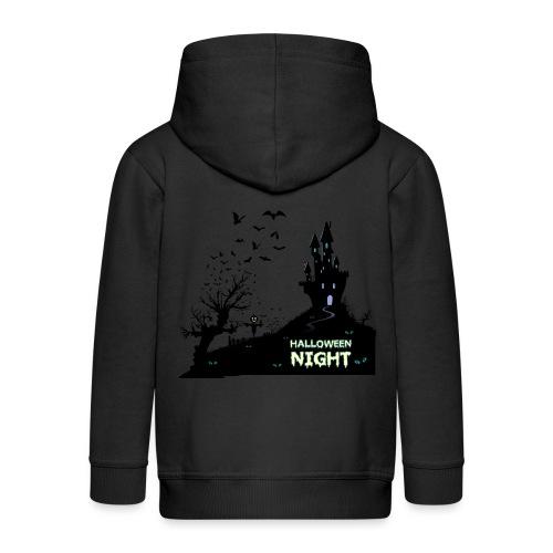 HALLOWEEN NIGHT - Kinder Premium Kapuzenjacke