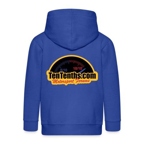 3Colour_Logo - Kids' Premium Hooded Jacket