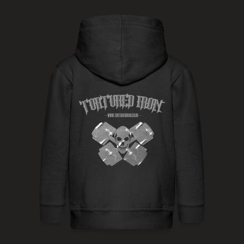 skull - Kids' Premium Hooded Jacket