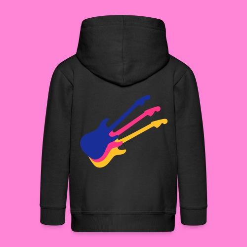 Good guitar black - Kinderen Premium jas met capuchon