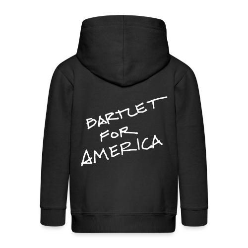 Bartlet For America - Kids' Premium Zip Hoodie
