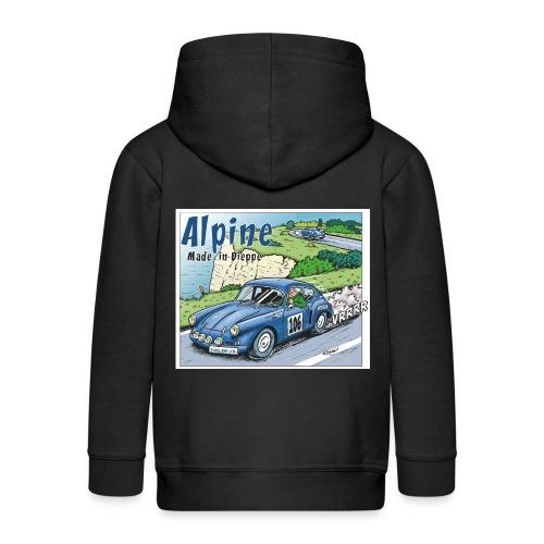 Polete en Alpine 106 - Veste à capuche Premium Enfant