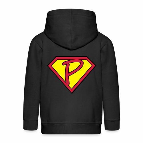 superp 2 - Kinder Premium Kapuzenjacke