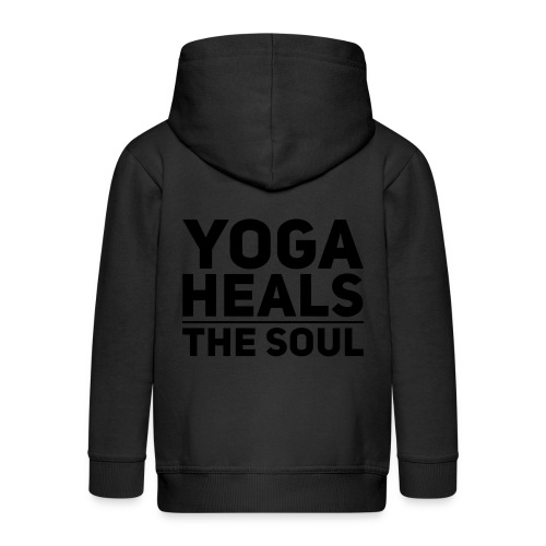 yoga - Kinderen Premium jas met capuchon