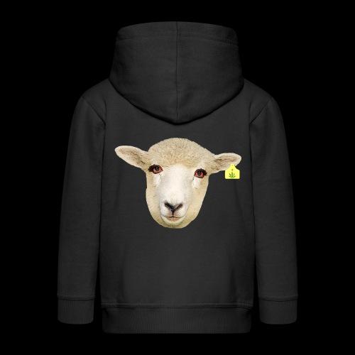 WEED SHEEP - Felpa con zip Premium per bambini