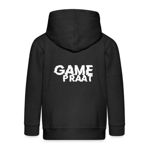 GamePraat T-Shirt - Kinderen Premium jas met capuchon