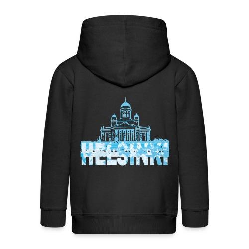 Helsinki Cathedral - Kids' Premium Hooded Jacket
