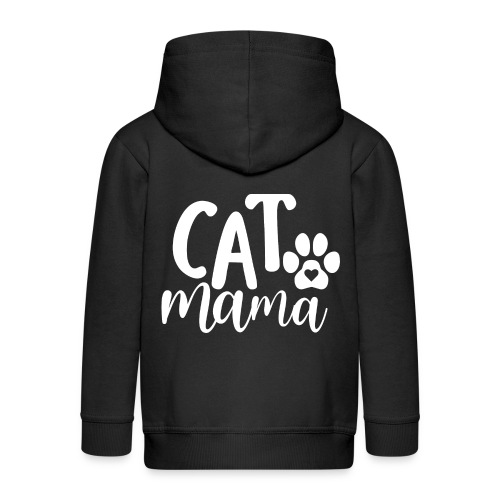 CAT MAMA - Veste à capuche Premium Enfant