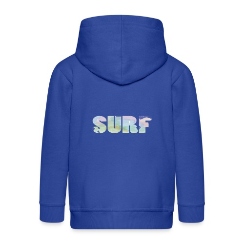 Surf summer beach T-shirt - Kids' Premium Hooded Jacket