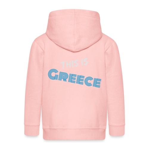 Das ist Griechenland - Kinder Premium Kapuzenjacke
