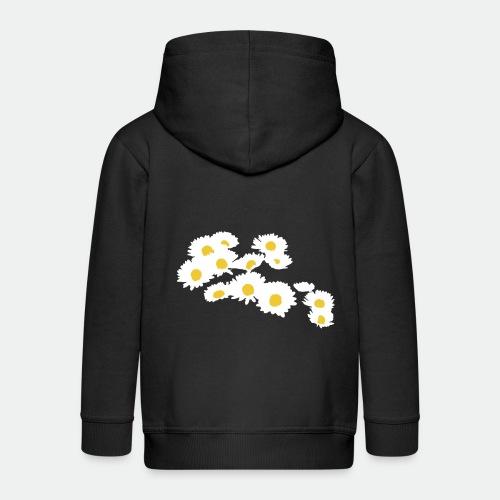 Spring Season Daisies - Kids' Premium Hooded Jacket