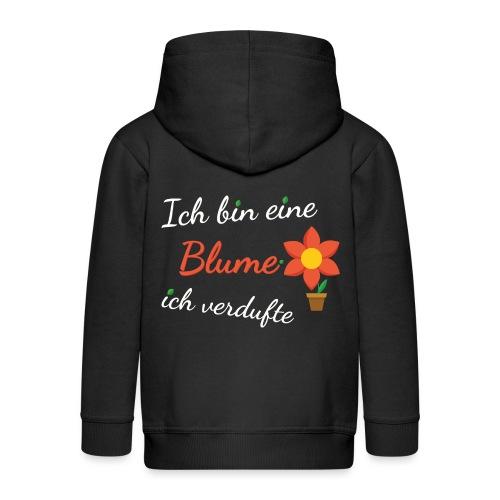 Blume Garten Gärtner Florist Shirt Geschenk - Kinder Premium Kapuzenjacke