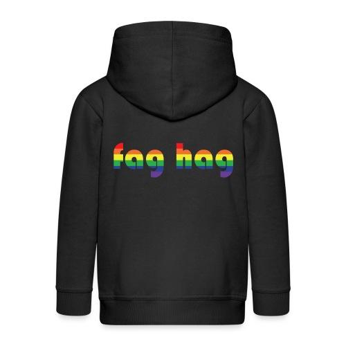 Fag Hag - Kids' Premium Hooded Jacket