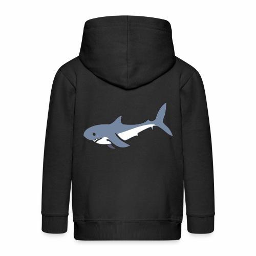 Hai - Kinder Premium Kapuzenjacke
