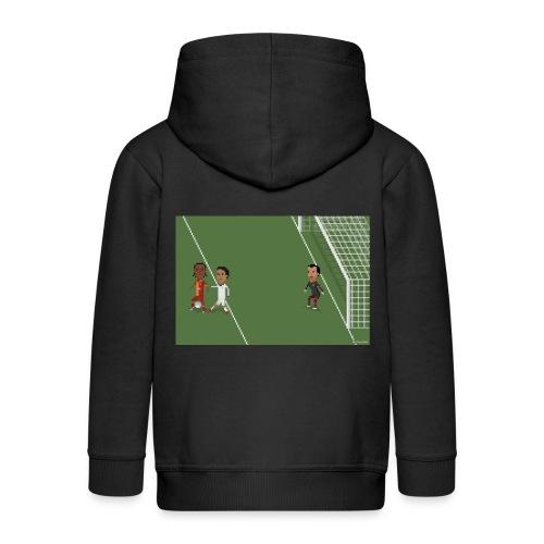 Backheel goal BG - Kids' Premium Hooded Jacket
