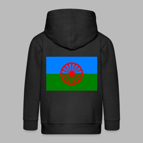 Flag of the Romani people - Premium-Luvjacka barn