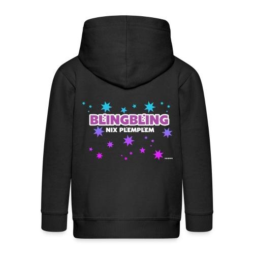 blingbling nixplemplem - Kinder Premium Kapuzenjacke