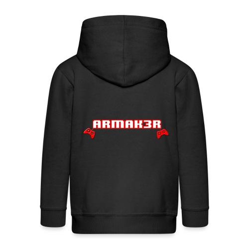 ARMAK3R 2nd Edition - Felpa con zip Premium per bambini