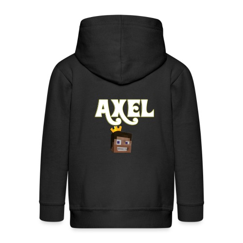 Axel Gam3r - Felpa con zip Premium per bambini