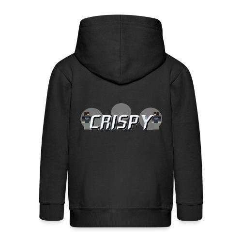 CRISPY - Felpa con zip Premium per bambini