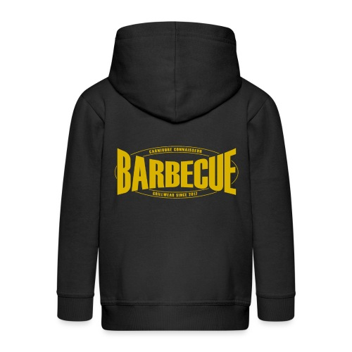Barbecue Grillwear since 2017 - Grillshirt - T-Shi - Kinder Premium Kapuzenjacke