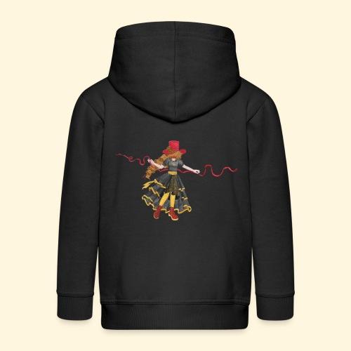 Ladybird - La célèbre uchronaute - Veste à capuche Premium Enfant