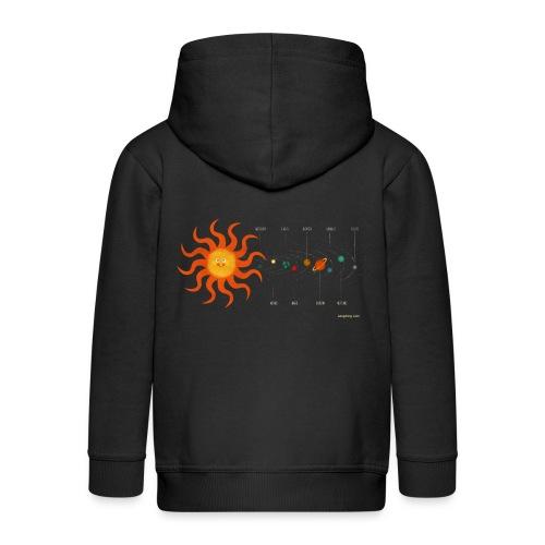 Solar System - Kids' Premium Hooded Jacket