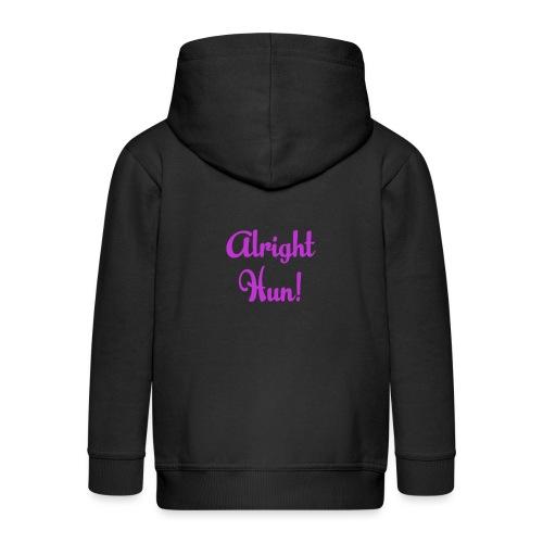 Alright Hun - Kids' Premium Hooded Jacket