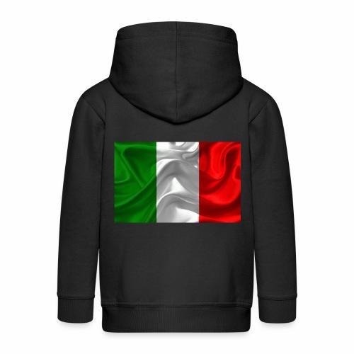 Italien - Kinder Premium Kapuzenjacke
