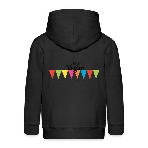 Not Vegan - Kids' Premium Hooded Jacket